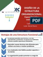 Diseño de la Estructura Organizacional Cap 6