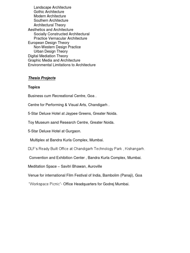 convention center thesis pdf
