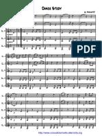 Dances Study - Quintetto Partitura+Parti