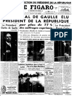 Le Figaro du 22-12-1958