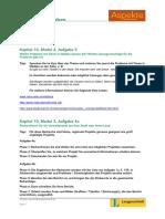 Aspekte 1 Rechercheaufgaben Kapitel 10
