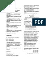 Lista de Exercícios de Equilíbrio Químico - Simulação