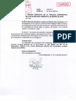 Gilberto Vela Cardenas -Agraviado solicita a la Fiscalía Ambiental la acumulación de carpetas investigatorias