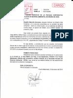 Gilberto Vela Cardenas- Agraviado solicita a la Fiscalía Ambiental acumulación de carpetas fiscales