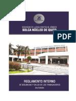 reglamentoDeSeguridadySaludOcupacionalSOLCAQuito2014