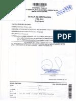 Francisco Pita Reyna- Fiscalía Ambiental solicita por tercera vez declaración de los denunciados