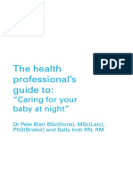Health Professionals Guide to Coping at Night