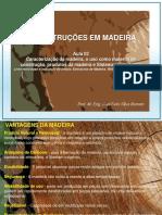 Aula 01 - Construcoes Em Madeira - Caracterizacao Da Madeira
