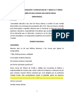Libreto permiación 7° a 3° medio 2016