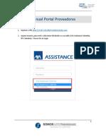 Manual Portal Proveedores