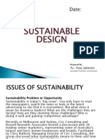 Sustainable Design Lecture # 02