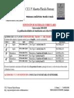 Subvencion Materiales Curriculares 2018-2019