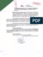 Francisca Chura Terrazas- Agraviado solicita a la Fiscalía Ambiental respuesta sobre acumulación de carpetas fiscales