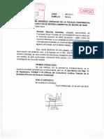 Francisca Chura Terrazas- Agraviado reitera acumulación de carpetas de investigación a Fiscalía Ambiental