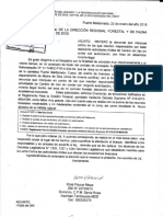 Rosa Paucar Meza- Agraviada reitera denuncia ante la DRFFS