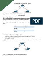 Etude Spanning Tree Protocol