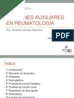 13ra Semana 2da Sesion - Examenes Auxiliares en Reumatologia - Dra. Llamoca