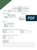 Formato de Evaluacion NEUROLOGICA de T.O