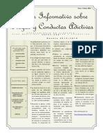 Boletin Informativo No 13. Drogodependencias y Conductas Adictivas