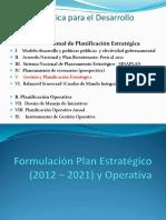 5 Formulación Planificacion Estratégica