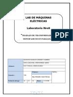 INFORME 8 Lab de Maquinas Electricas