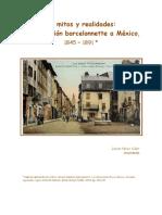 De Mitos y Realidades Barcelonnette 1845-1891
