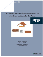 O rendimento no processamento de madeira no Estado do Pará