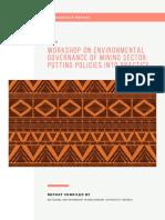 Kwale Workshop Report