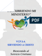 Vcp 2-A_sirviendo a Cristo_ministerio_ Vcp 2-B_ Descubriendo Mi Misión