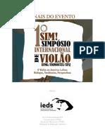 Anais do 1º Simpósio Internacional de Violão