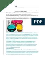 Informes d Quimica Ácidos y Bases