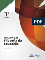 Filosofia da Educação - Adilson Duarte