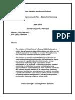 2009-2010 John Hanson Montessori - Executive Summary