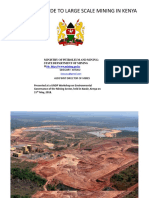 Presentation of the Community Guide to Large-Scale Mining in Kenya