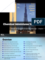 EB001 CH7 - Chemical Admixtures for Concrete