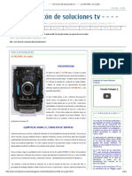 - - - - El Rincón de Soluciones Tv - - - -_ LG MCV904, Sin Audio