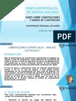 CIMENTACIONES SUPERFICIALES, DISEÑO DE ZAPATAS AISLADAS.ppt.pdf