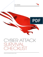 White Paper Cyber Attack Survival