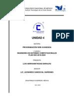 UNIDAD 4 programacion web avanzada