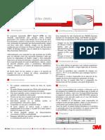 3M Protección Respiratoria Desechable  - 1870+