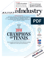 January 2019 Tennis Industry