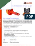 Ficha Técnica detector tensión