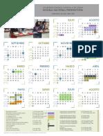 Calendario Escolar 2019-0 Prepa 4