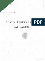 Tischendorf C - Novum Testamentum Vaticanum
