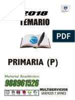 2019 primaria temarios pamer trilce