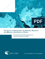 The State of Knowledge on Advance Requests for Medical Assistance in Dying