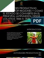 Ana Iris 1 - Actividades productivas básica por regiones