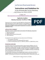 2019 YSEALI Media Literacy Workshop Application Instructions Guidelines