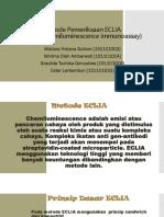 Metode Pemeriksaan ECLIA (Electrochemiluminescence Immunoassay)