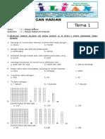 Soal K13 Kelas 2 SD Tema 1 Subtema 1 Hidup Rukun di Rumah dan Kunci Jawaban .pdf